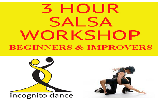 3 Hour Beginners Amp Improvers Salsa Workshop 171 Incognito Dance