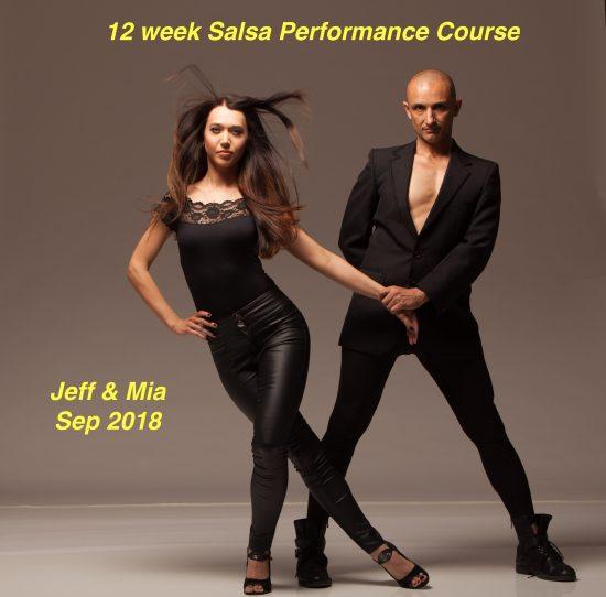 Jeff Tarpinian & Solomia Bachynska salsa performance course