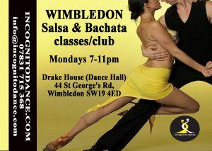 Wimbledon Salsa & Bachata Club, classes and courses