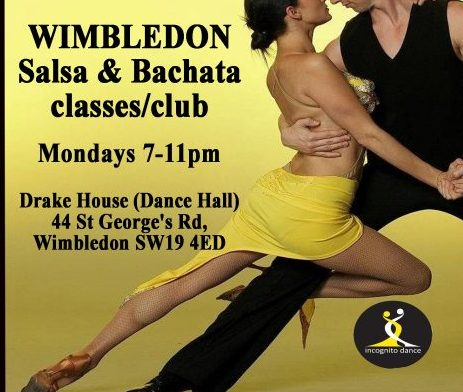 Wimbledon Salsa & Bachata Club, classes and courses